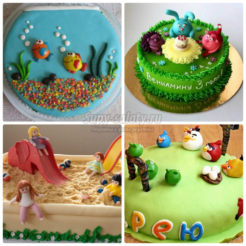 Детские торты на день рождения своими руками с фото-рецептами 4