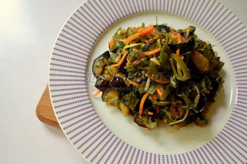 салаты из баклажанов рецепты