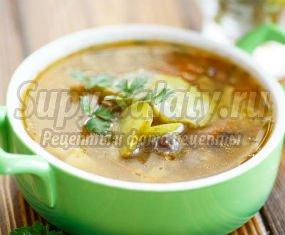 Вкусные и полезные рецепты рассольника с огурцами