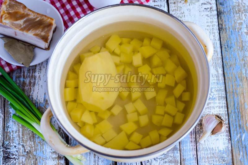 суп с подчеревком