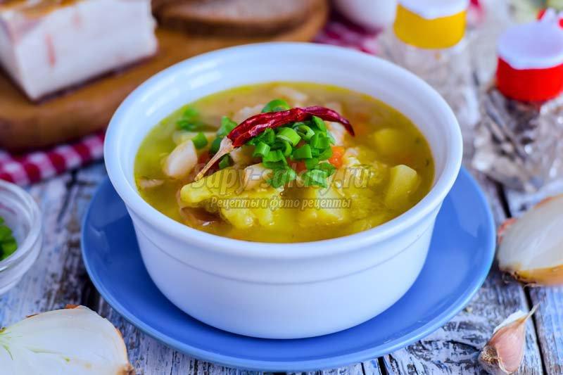 суп из подчеревка
