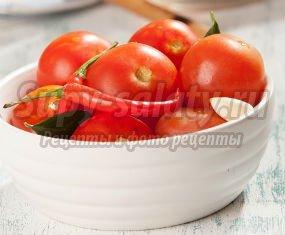 маринованные сладкие помидоры на зиму в банках: пошаговые рецепты с фото.
