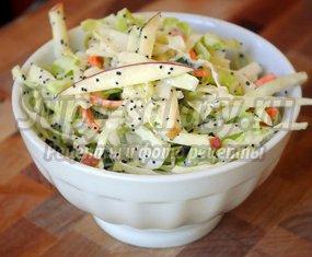 Салат из капусты: витаминные рецепты для хозяюшек