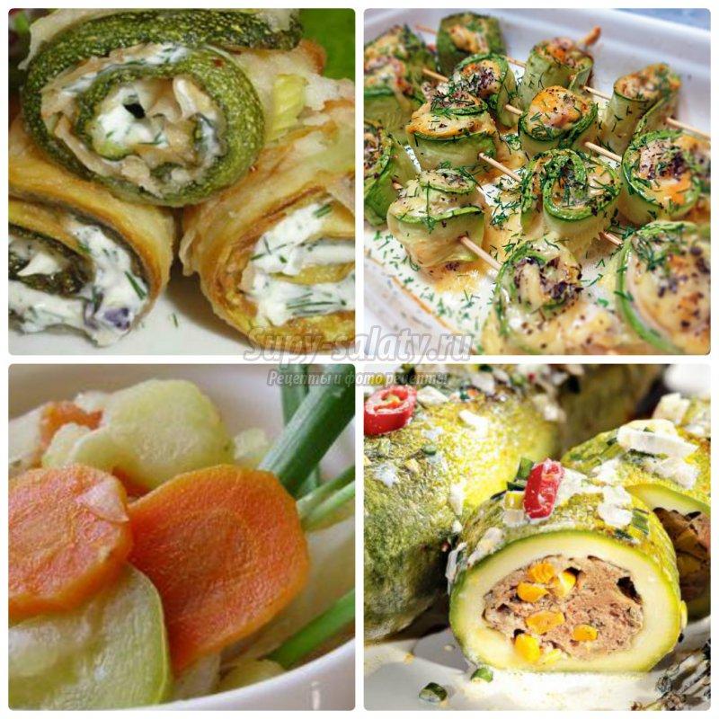 Вкусные кабачки: рецепты быстро и вкусно на каждый день и праздник