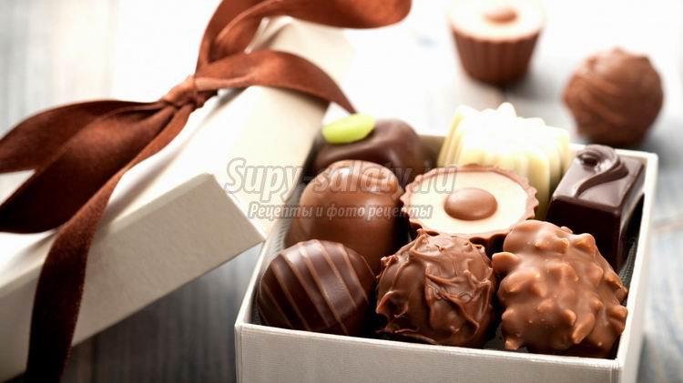 Как изготавливают шоколадные конфеты?