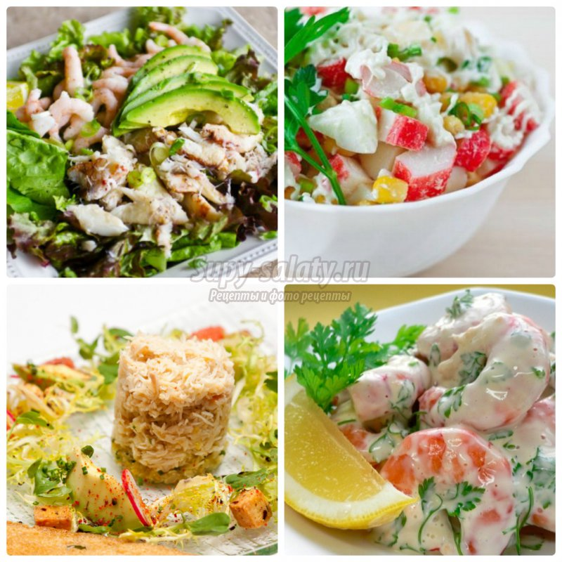 Салат краб рецепты и