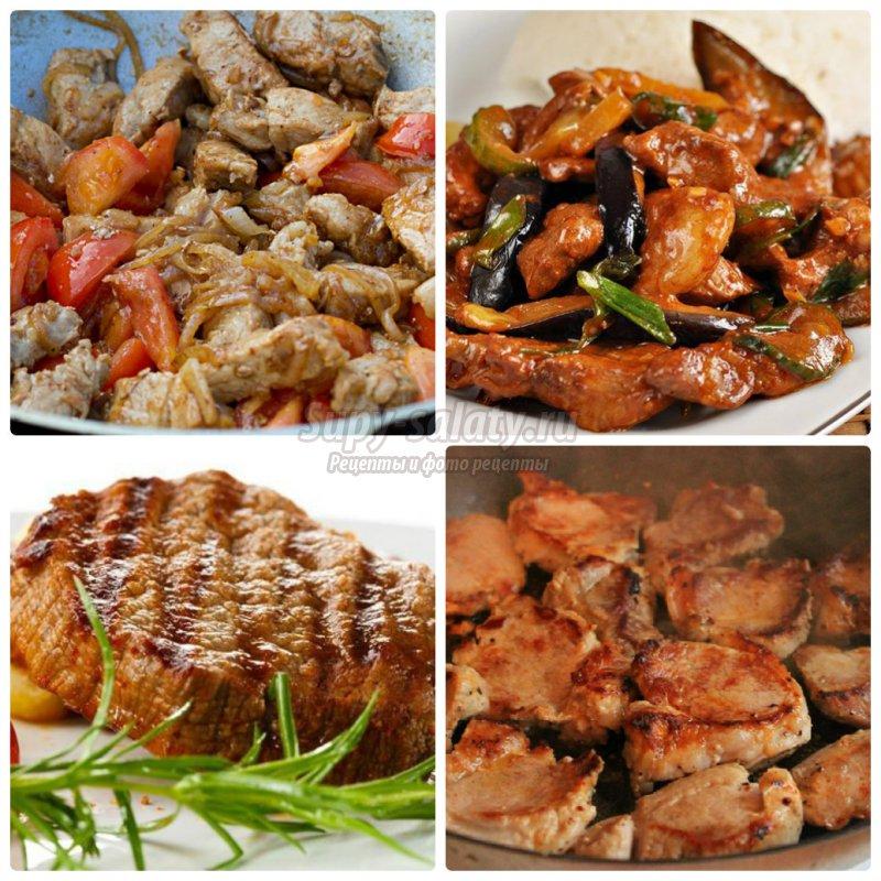 Мясо на кости свинина рецепт на сковороде