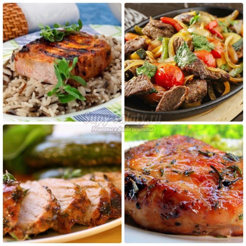 Мясо свинины  на сковороде: рецепты с фото