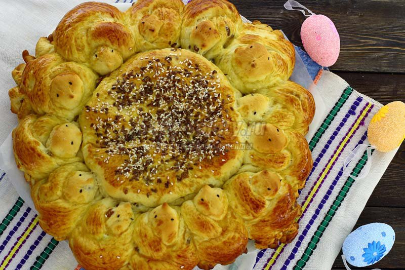 вкусный пасхальный пирог рецепт
