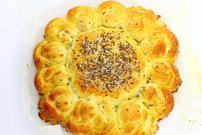 пасхальный пирог с изюмом