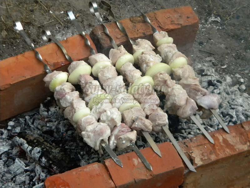 самый вкусный шашлык из свинины