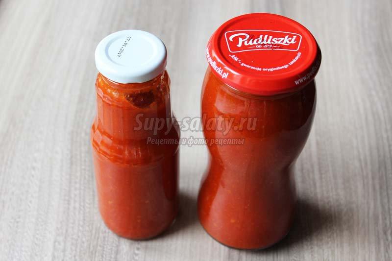 рецепт кетчупа с болгарским перцем