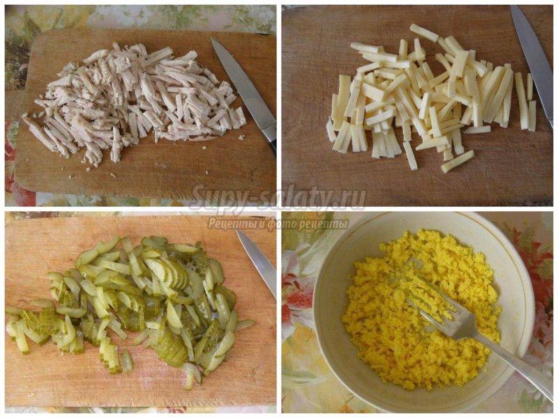 рецепт салатов из вареной скумбрии