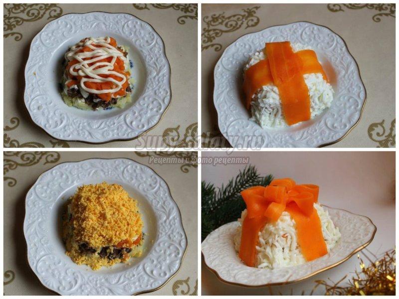 Простые праздничные салаты: интересные рецепты с пошаговыми фото