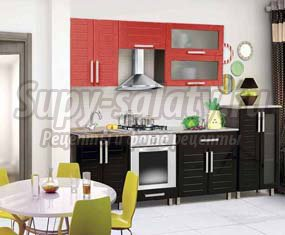 Набор кухонной мебели. Советы по подбору мебели