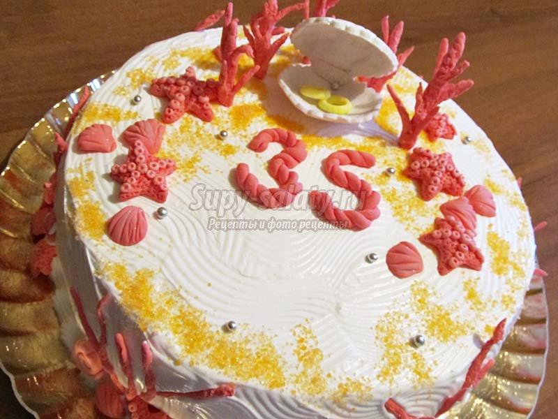 декор торта из мастики мастер класс