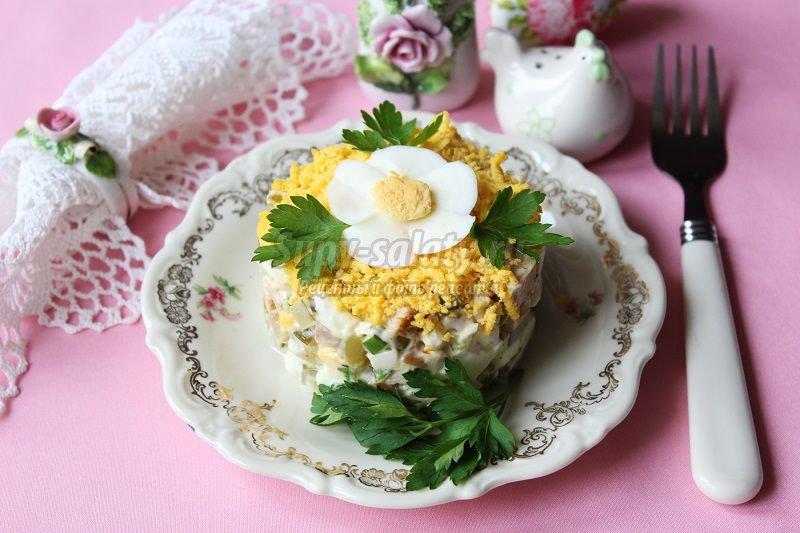 салат с бужениной рецепт