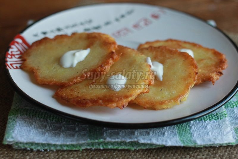 картофельные драники рецепт с фото