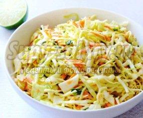 Салат: капуста с морковью и уксусом. Пошаговые рецепты с фото
