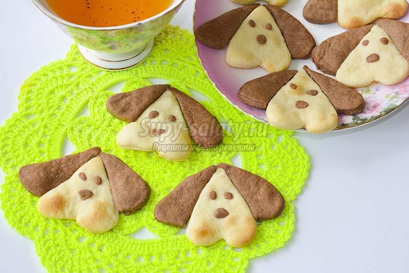 рецепты приготовления печенья с фото
