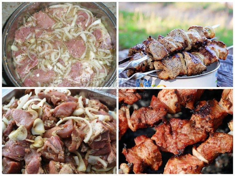 Шашлык с уксусом и луком: как приготовить вкусно?