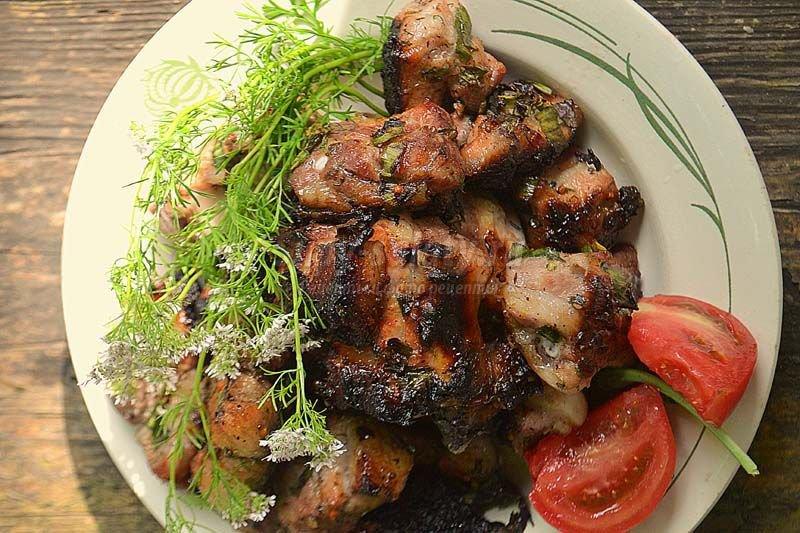 шашлык из свинины маринад с яблочным уксусом