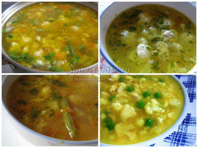 Суп из цветной капусты: готовим вкусно и полезно