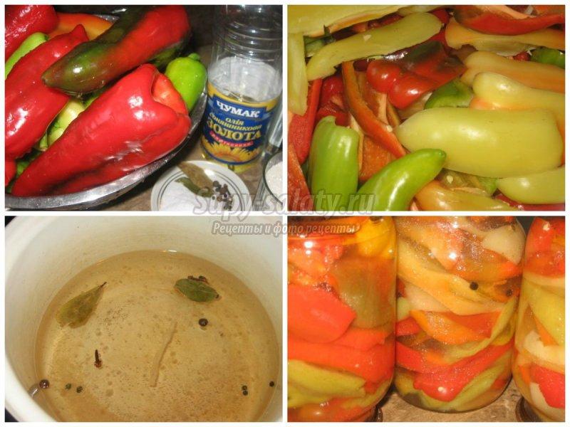 Как вкусно мариновать перцы на зиму: пошаговые рецепты с фото