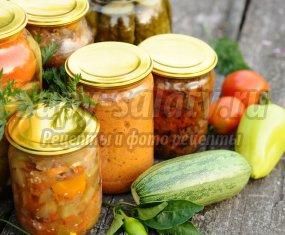 Лечо из кабачков на зиму: вкусные рецепты с фото