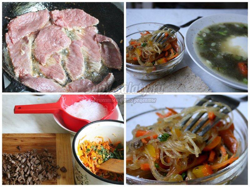 Вкусные рецепты салатов  с огурцами  и болгарским перцем: пошагово