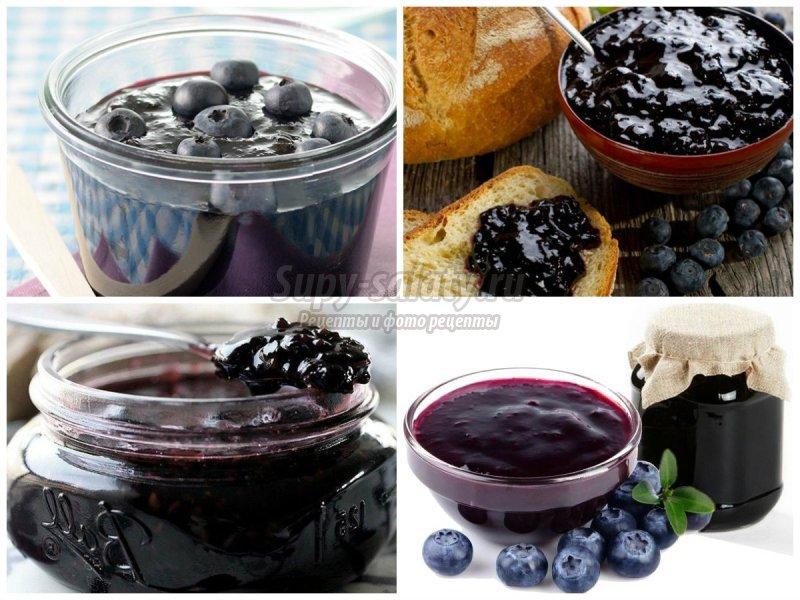Вкусное варенье из голубики на зиму: рецепты с фото