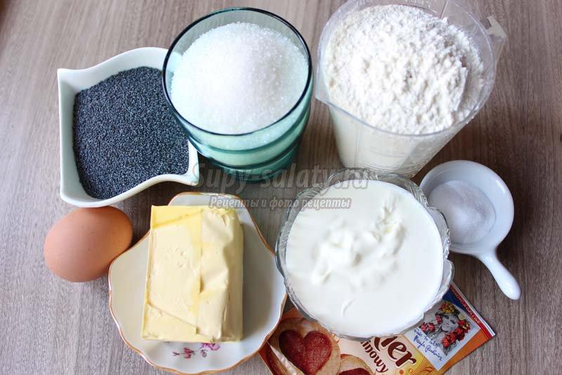 Маффины с маком - рецепт пошаговый с фото