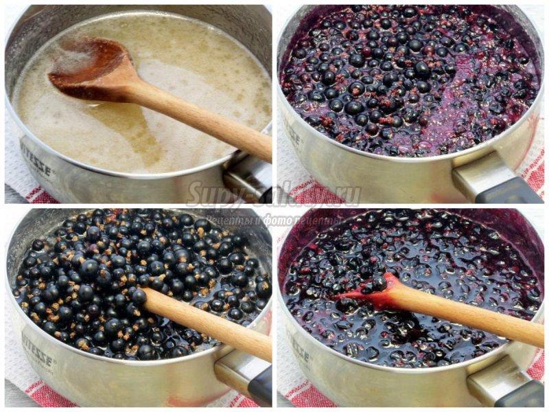 Пятиминутка  из смородины: рецепты  с фото пошагово