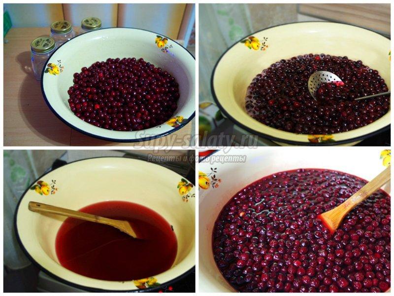 Густое варенье из вишни: золотые рецепты с фото