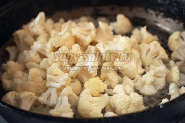 Капуста, тушенная в сметанном соусе