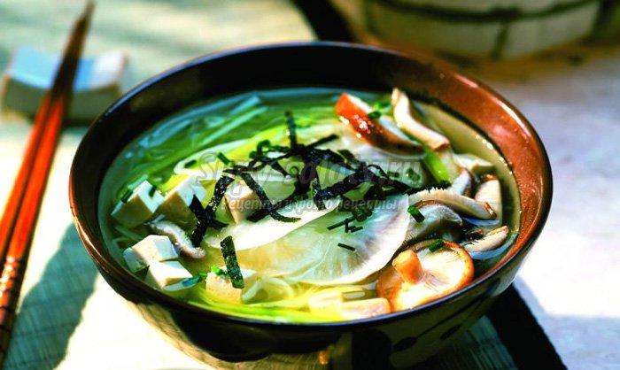 Вкусный рецепт мисо супа