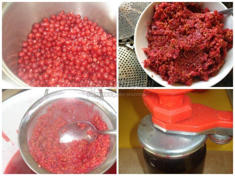Приготовить желе из красной смородины на зиму без варки