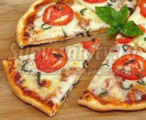 Лучшие рецепты пиццы на сухих дрожжах