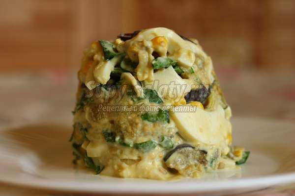 салат из печеных овощей на мангале рецепт