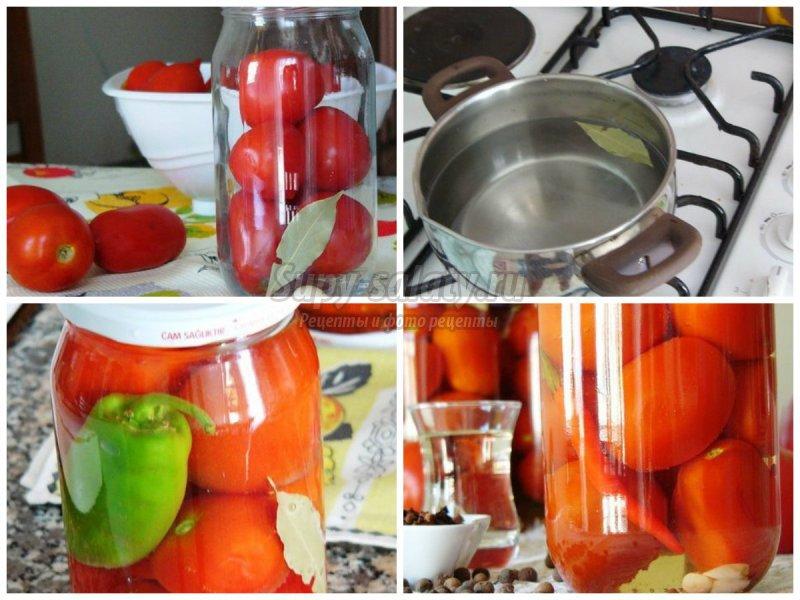 сладкие помидоры на зиму рецепты с фото пошагово