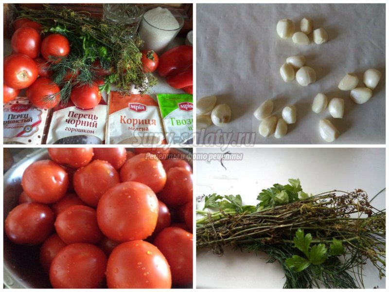 Золотые рецепты сладких помидоров на зиму пошагово