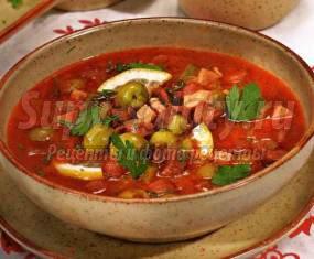 Рецепт солянки с грибами и капустой: пошаговый с фото