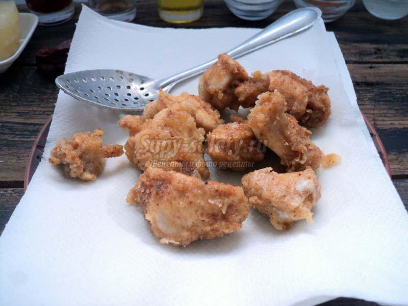 куриное филе с ананасами рецепт