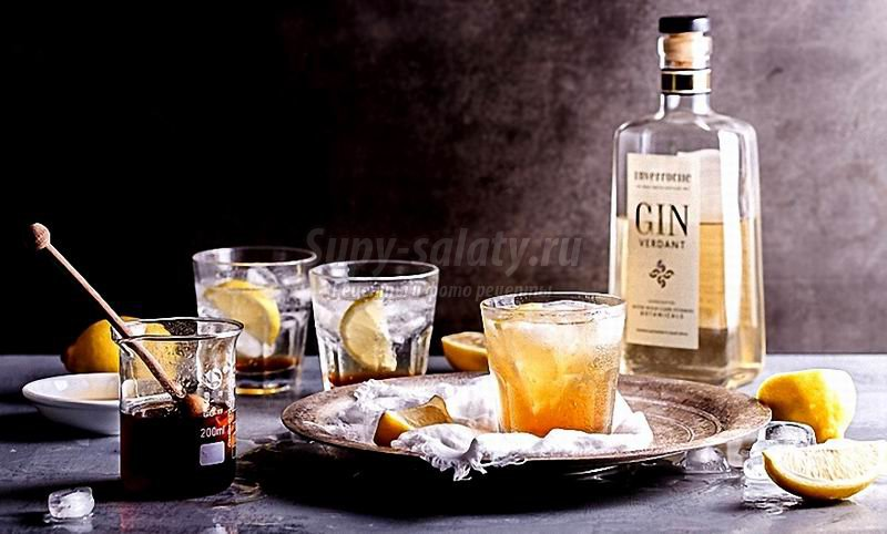 Коктейли с джином: самые простые рецепты