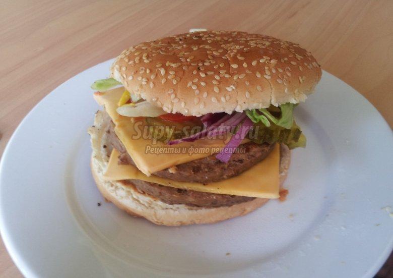Как сделать гамбургер в домашних условиях? Рецепты с фото
