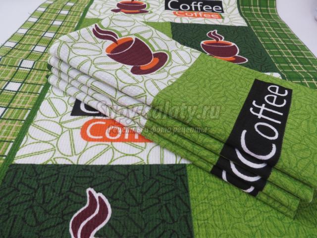 Самые популярные текстильные изделия для кухни