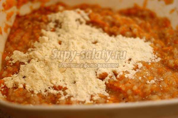 Запеканка с рисом и тыквой