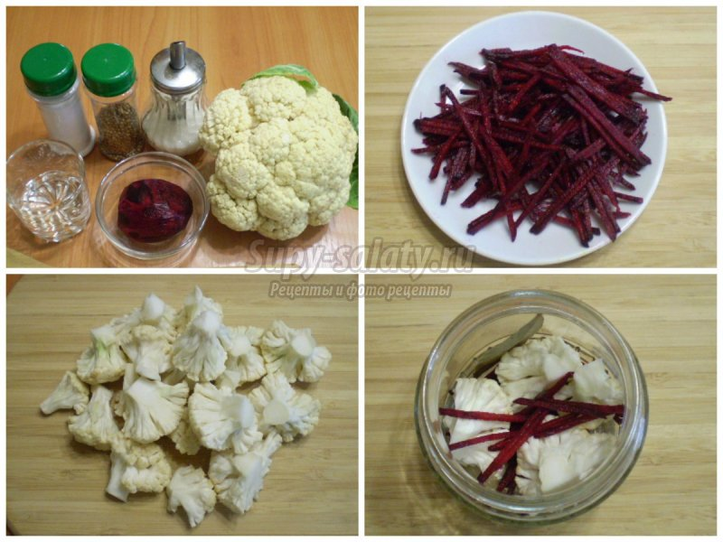 Рецепт маринованной капусты со свеклой: пошаговый с фото