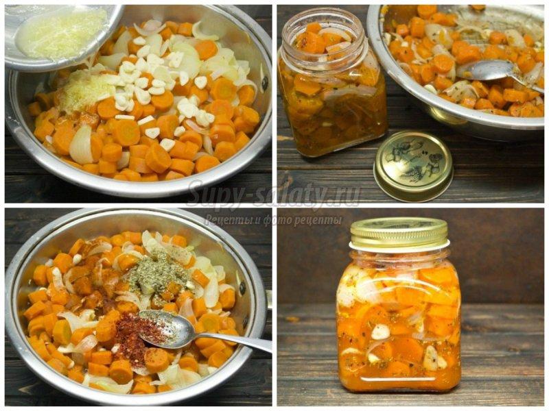 Рецепты: морковь в банках на зиму