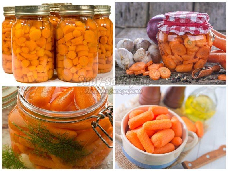 Морковь на зиму в банках для супа